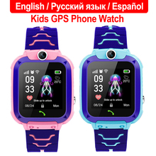 Multifunction Children Digital Q12 Smart Watch Wristwatch Alarm Baby Waterproof With Remote Monitoring For Kids