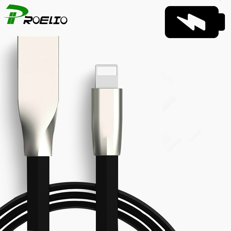 Hot Sales 1/2/M 3FT 6FT Fast Charging Flat Noodle Micro Usb Sync Data Charger USB Cable For Apple iPhone 5 6 6S 7 plus iPad mini