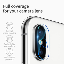 Baseus 0.15mm Camera Lens Glass Film for iPhone X