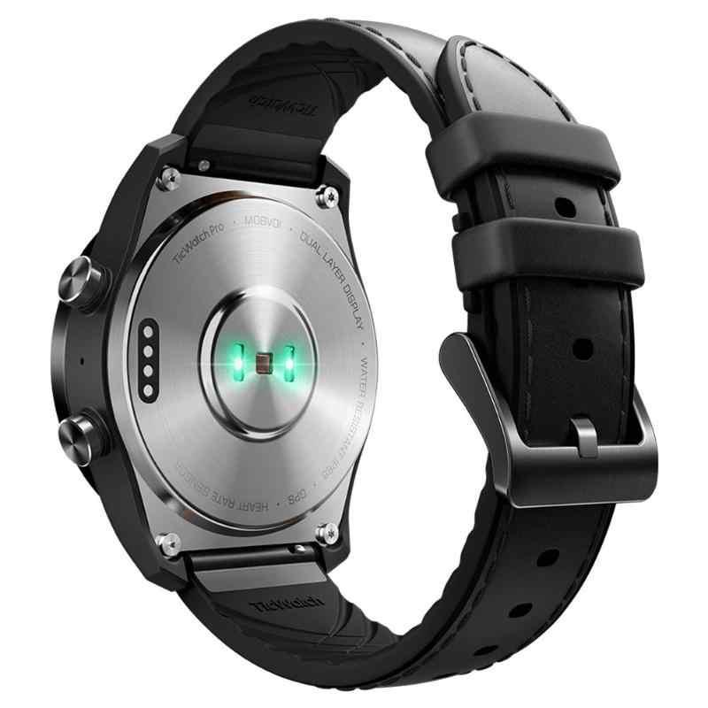 Asli Xiaomi Ticwatch Pro Android GPS Smart Watch IP68 Tahan Air Mendukung NFC Pembayaran/Google Pay Bluetooth Kebugaran Smartwatch
