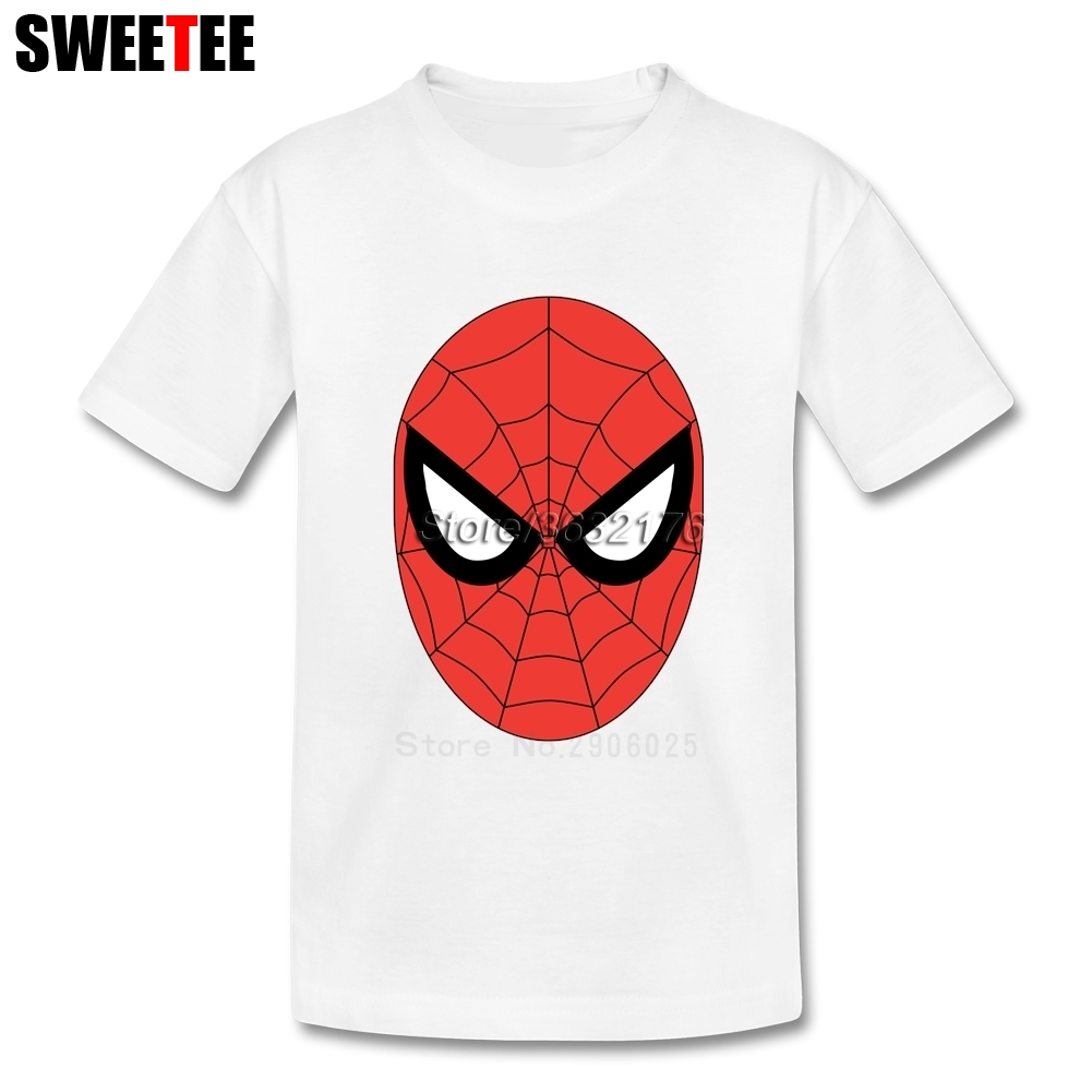 childrens T Shirt Spider Man Infant 100% Cotton Round Neck Kid Tshirt 2018 Toddler Clothing Boy Girl T-shirt For Baby