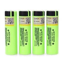 4 sztuk 2019 Liitokala oryginalny 18650 3400mAh NCR18650B 3.7V 3400 akumulator akumulator litowy do baterii latarki