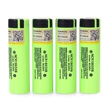 4PCS 2019 Liitokala original 18650 3400mAh NCR18650B 3.7V 3400 battery  Lithium Rechargeable Battery For Flashlight Batteries