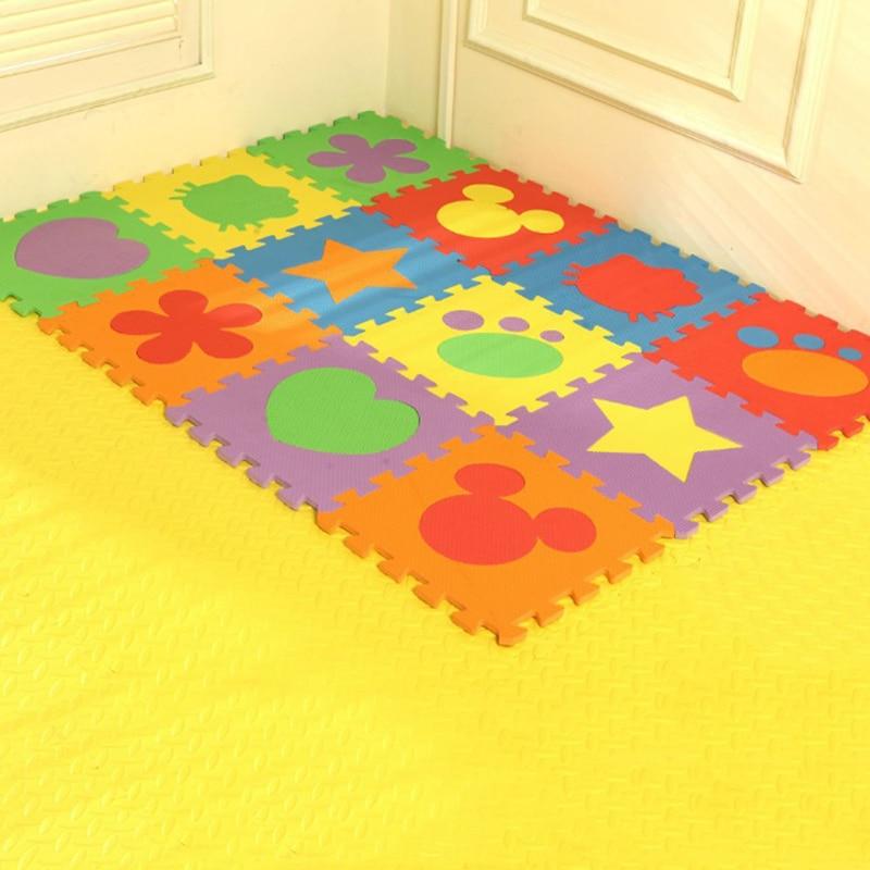 Երեխաների անվտանգ փափուկ Eva Foam Puzzle - Խաղալիքներ նորածինների համար - Լուսանկար 2