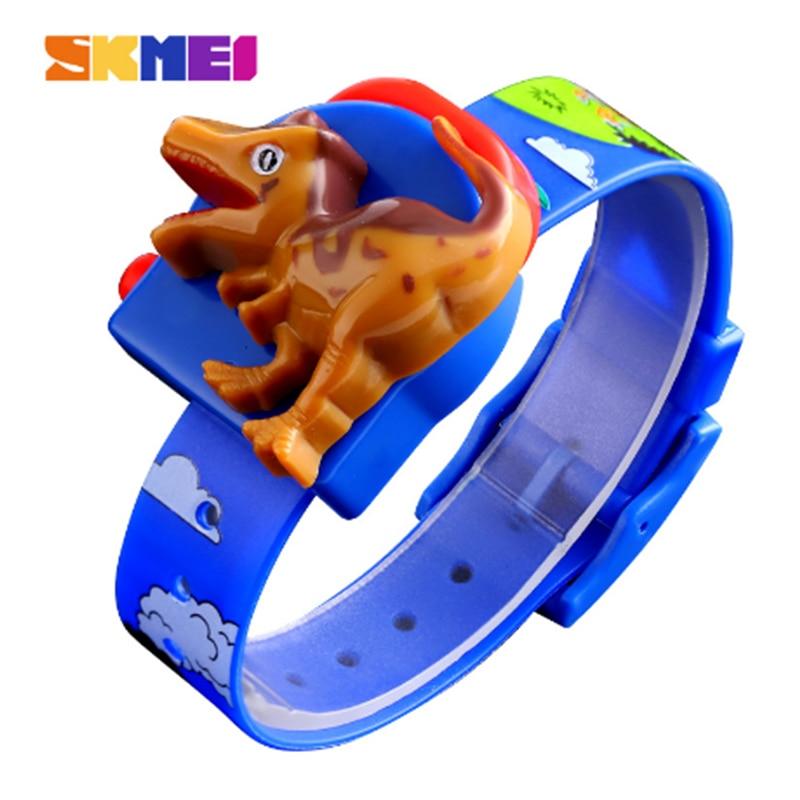 SKMEI Interesting Kids Watches Fashion Cute Children Watch Creative Dinosaur Model Boys And Girls Love Montre Enfan  Child 1468