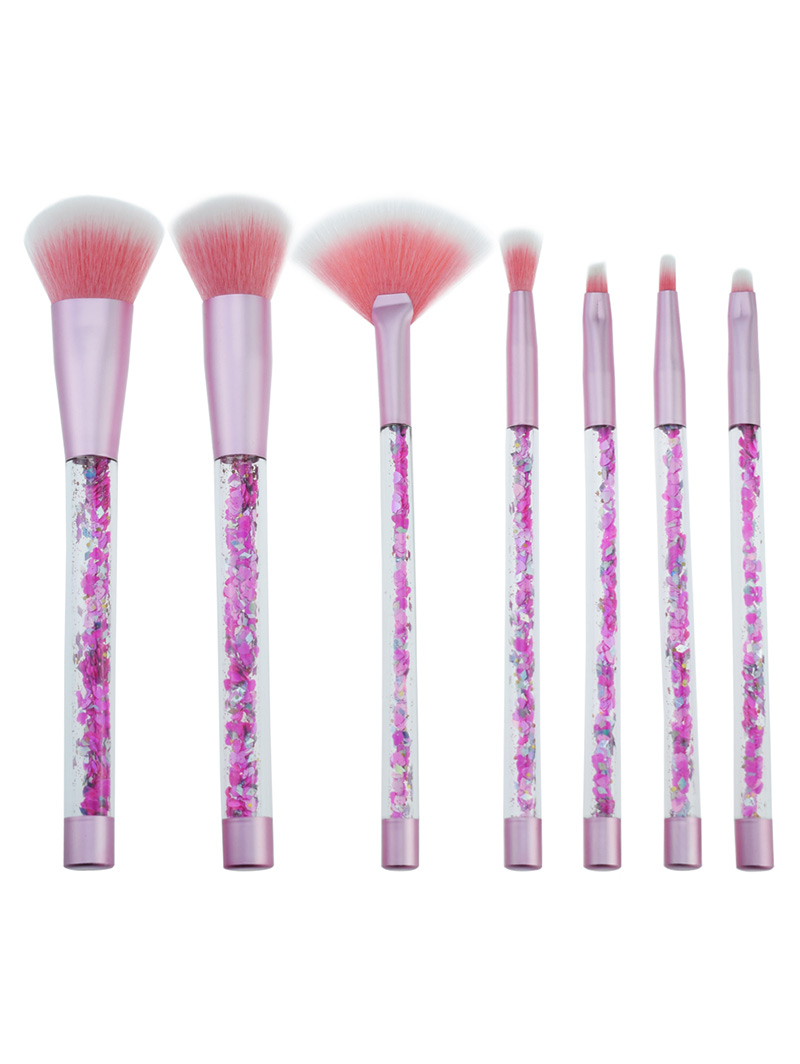 7 Pcs Make-Up Brushes For Make-Up Professional Eye Shadow Foundation Eyebrow Lip Makeup Brush Suit Make Up Tools pro 15 pcs sets make up brush set eye shadow foundation eyebrow lip brush makeup brushes tools cosmetic kits for makeup