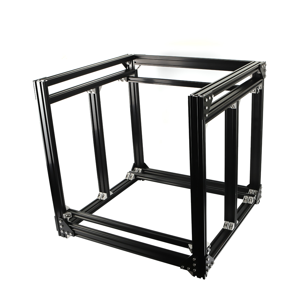 Black Aluminum 2040 Profile Extrusion BLV mgn Cube Frame kit For DIY CR10 3D Printer Z Height 365MM