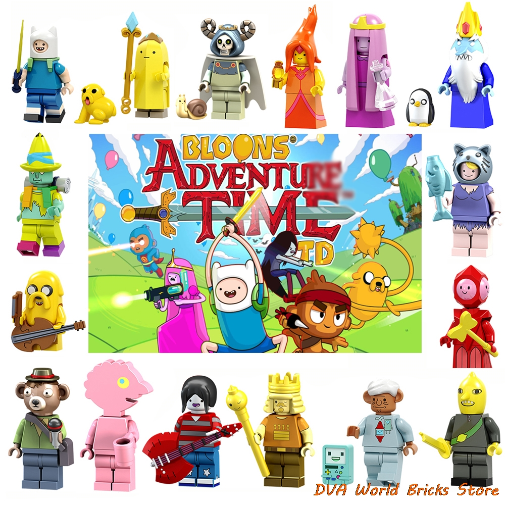 Minifigures Adventure Time with Finn and Jake
