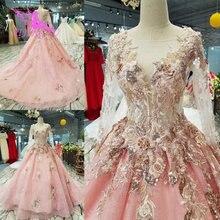 AIJINGYU gelinlik fiyat elbisesi payetler ile hintliler beyaz lüks artı boyutu elbiseler tayvan düğün elbisesi tren ile