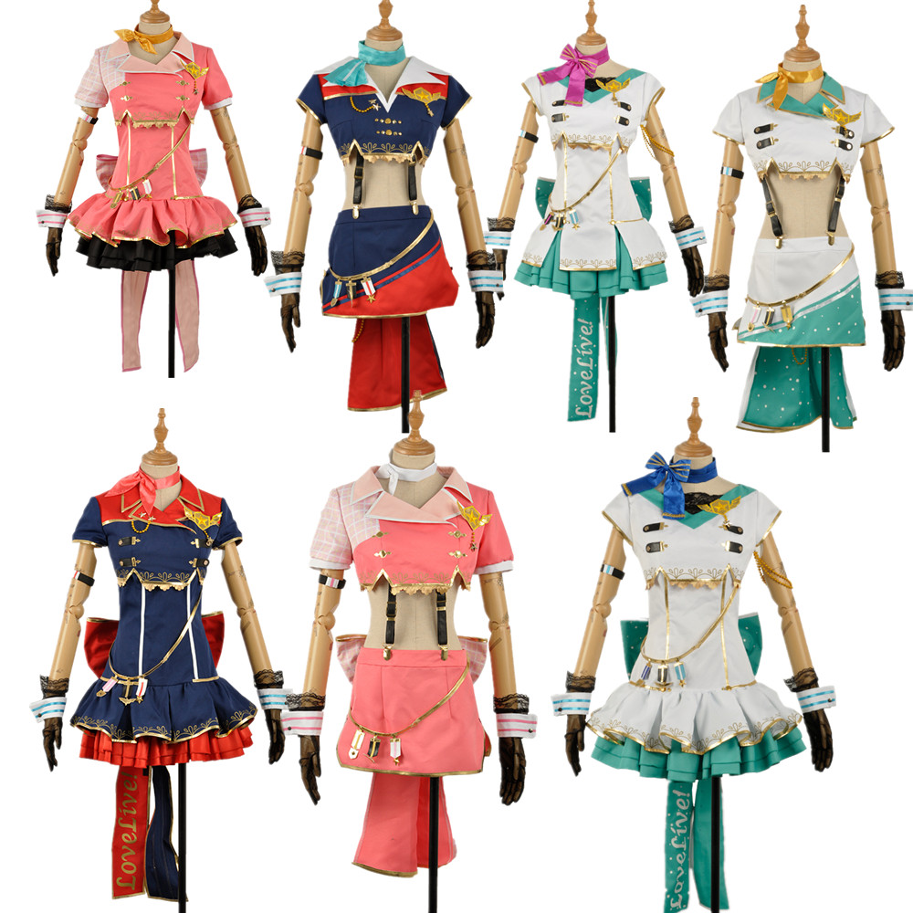 Cosplay Costume Love Live Sky Halloween Dress Sakurauchi Riko Kurosawa Ruby Kunikida Hanamaru Watanabe You