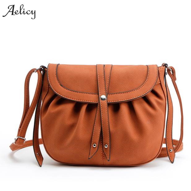 Aelicy dropshipping new 2019 hot selling New Women Lady Hobo Satchel Fashion Bag Tote Messenger Leather Purse bolsa feminina sac