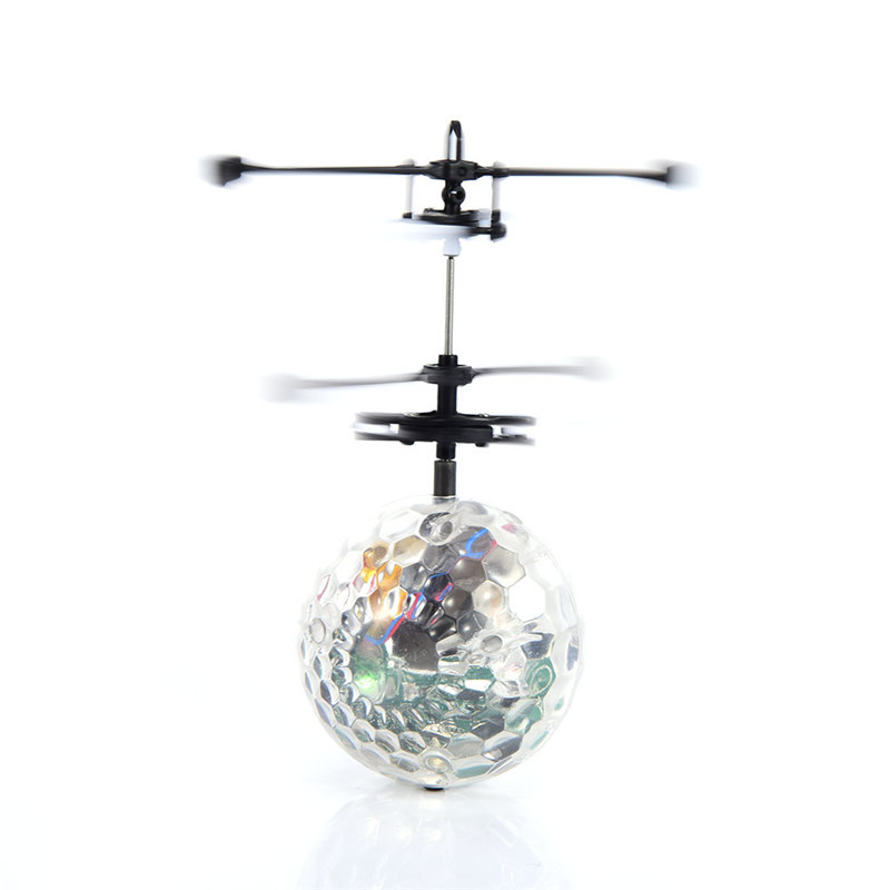 Flying RC Ball Aircraft Helicopter Led Flashing Light Up Toy Induction Toy Electric Toy font b