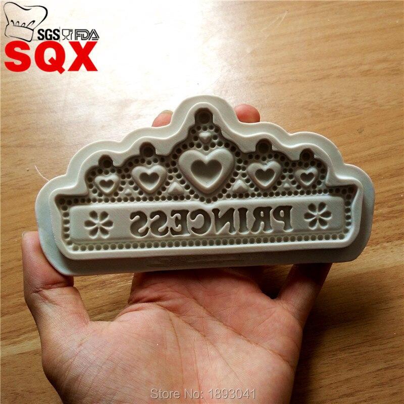 Královna princezna tvar dort dekorace forma, kutilství pečení nástroj, dort formování kuchyňské gadget, kuchyňské doplňky SQ16324