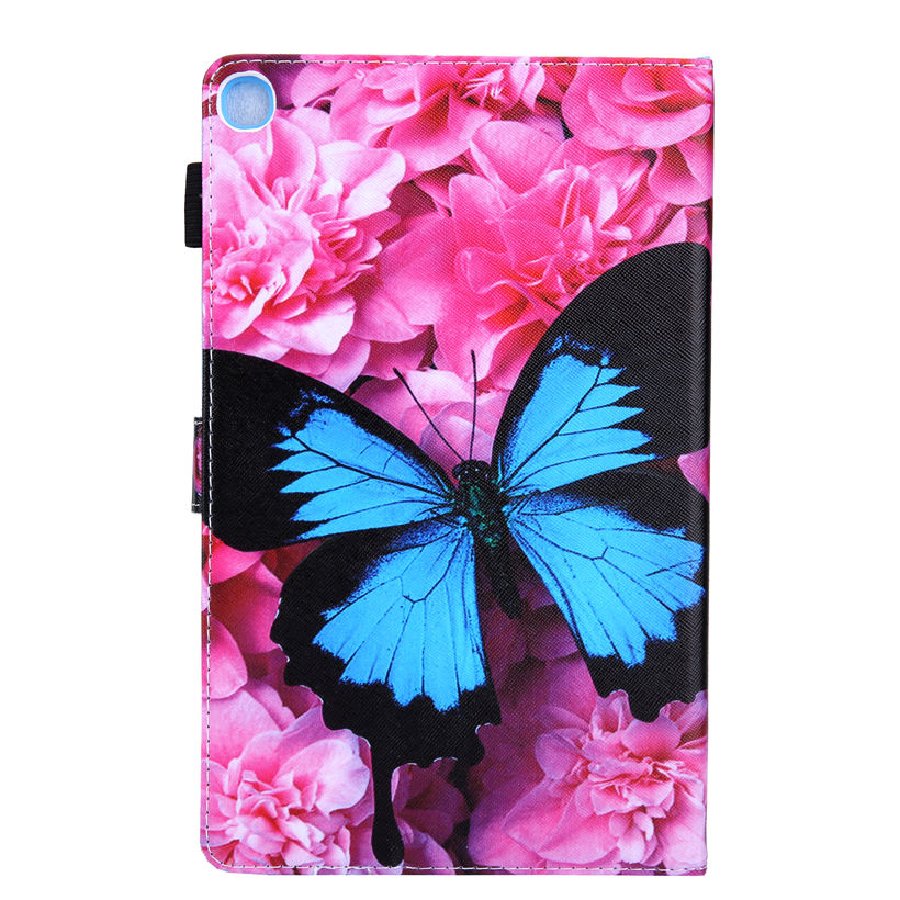 Case For Samsung Galaxy Tab S5e 10.5 2019 SM-T720 SM-T725 Cover Funda Tablet Fashion Butterfly Flip Stand Shell Skin +Gift
