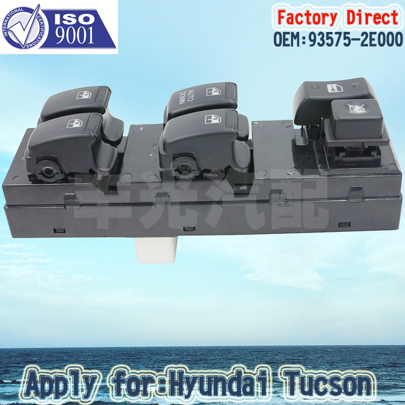 Factory Direct Auto Power Window Control Switch Apply For HYUNDAI Tucson LHD Driver Side 93575-2E000