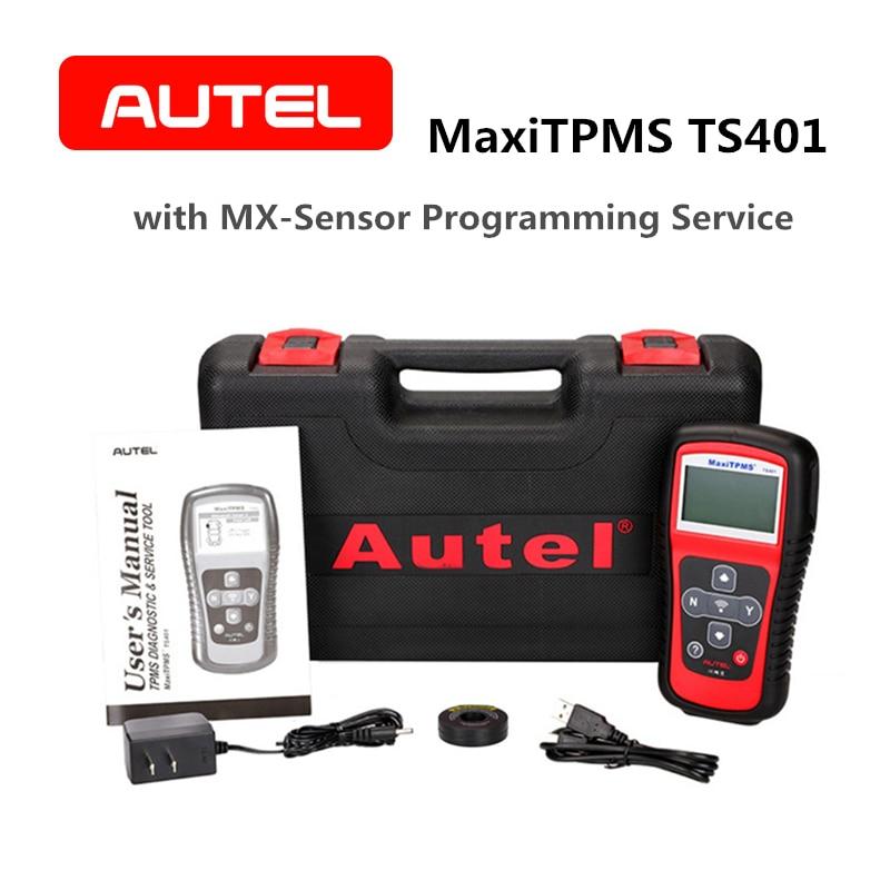 Autel TPMS Diagnóstico e Serviço Ferramenta MaxiTPMS TS401 oferecem mais rápido o processo de Pré-seleção de Ativação com 315 mhz 433 mhz Mx -Sensor