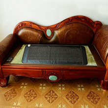 Good & Free Shipping! Natural Jade Cushion Germanium Stone Tourmaline Heated Mat Jade Health Care Physical Therapy Mat 150x50cm