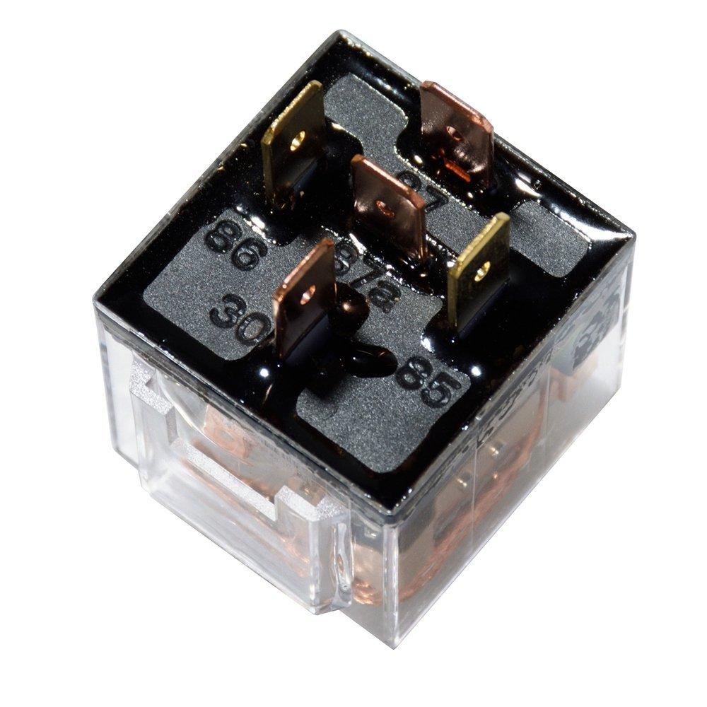 KH 5 / Set Auto Relaissockel 12 V / 24 V 60A AMP 5 Pin SPDT Stecker 5 - Autoelektronik - Foto 5