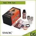 100% Оригинал Smok TFV8 Танк 6 мл Топ-заполнения Регулируемый Поток Воздуха Управления Облако Зверь Бак с 4 Уникальных Запатентованных Двигателей с турбонаддувом