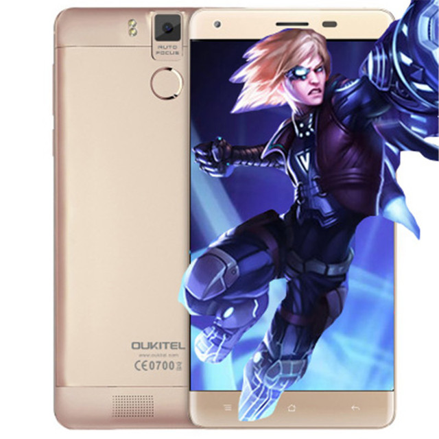 Oukitel K6000 Pro Android 6.0 6000mAh 4G Phablet 5.5 inch MTK6753 64bit Octa Core 3GB RAM 32GB ROM 16MP Rear Camera Press Sensor