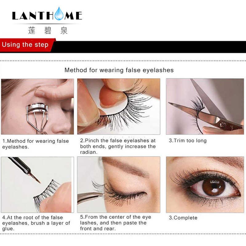 1f934c429f4 ... 12 pairs ASS fake eyelash Natural hand made Black Long Cross False  Eyelashes Fake Eye Lashes