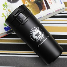 e9ec9ac4fe9 Hot Bilayer 304 Stainless Steel Insulation Thermos Cup Coffee keep Mug  Thermo Mug water for bottle