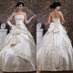 The life of 2012 of the most beautiful wedding dress ...Gorgeous Wedding Gowns 2012