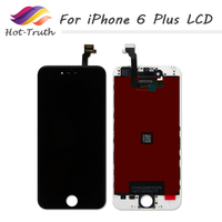 ET Super AAA Quailty 5 PCS For IPhone6 Plus LCD Display Touch Screen Digitizer Complete Digitizer