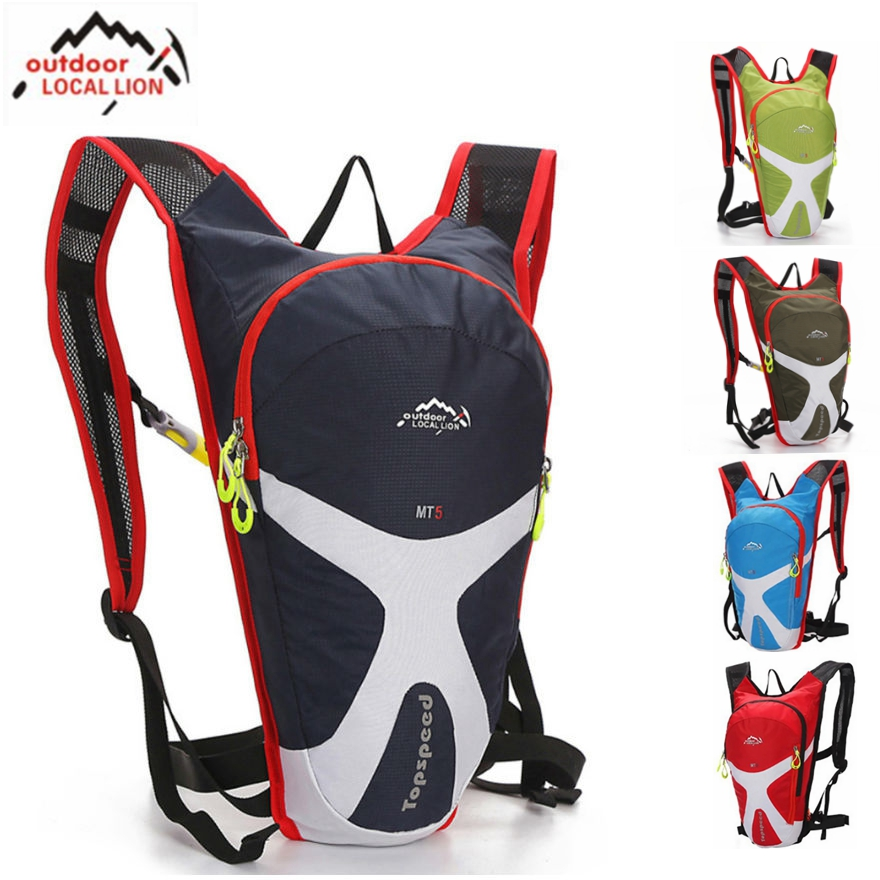 Bike Bicycle Mini Backpack 5L Outdoor Hiking Climbing Travel Hydration System Pouch MTB Road Cycling Backpacks Water Bag