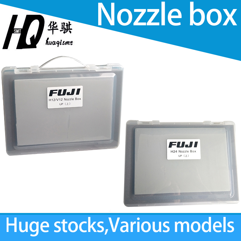Boîte de buse utilisée pour les buses de montage de puce NXT Fuji mallette de rangement SMT pièces de rechange H01 H02 H04 H08 H12 H24