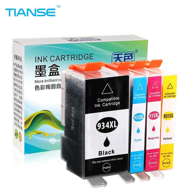 TIANSE dla HP 934 XL tusz kartridż do HP 934XL 935XL HP934 HP934XL dla HP Officejet pro 6230 6812 6815 6830 6835 6820 drukarek