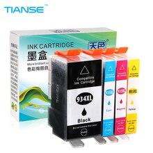 TIANSE için HP 934 XL mürekkep HP için kartuş 934XL 935XL HP934 HP934XL Için HP Officejet pro 6230 6812 6815 6830 6835 6820 yazıcılar
