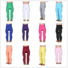 14different Colors Tight Pants Fit 18 Inches Doll Baby Doll Clothes Accessories Handmade Fashion Pants ClothesN400