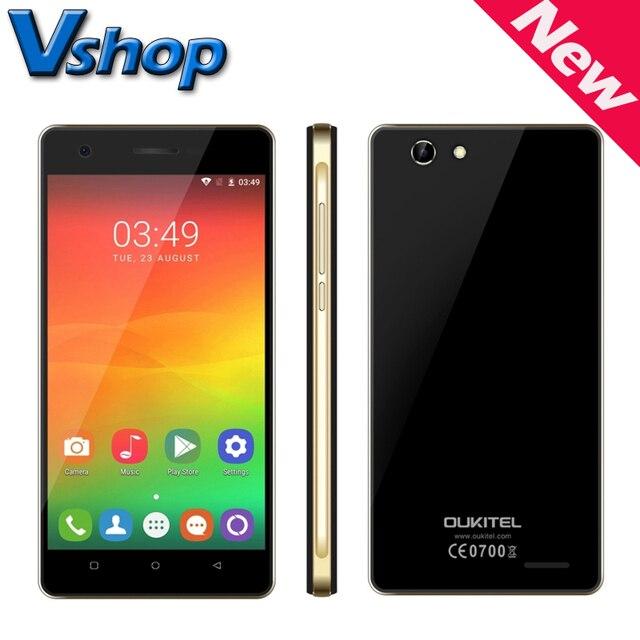 Original OUKITEL C4 4G LTE Mobile Phone Android 6.0 1GB RAM 8GB ROM MTK6737 Quad Core 720P Dual SIM 5.0 inch Cell Phones GPS