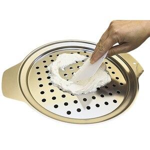 Image 3 - ステンレス鋼spaetzleメーカー蓋付きスクレーパードイツ卵麺団子メーカーホームキッチンパスタ調理ツールaccessoires