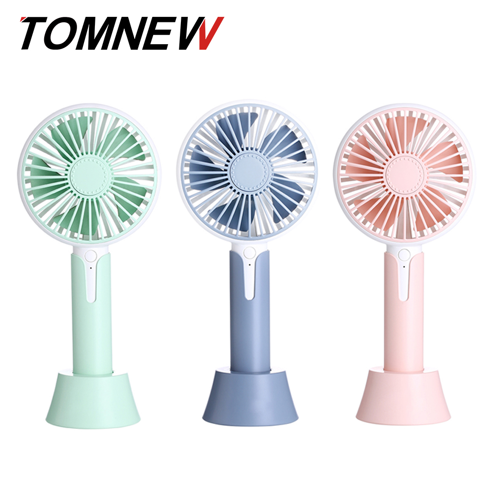 TOMNEW USB Fan Portable Desk Table Mini 1200mA Rechargeable Househeld Jade Aroma Diffuser Hand Fan for Home Outdoor Travel handheld cartoon mini fan usb portable fan for home outdoor desk rechargeable air conditioner with 1200ma rechargeable battery