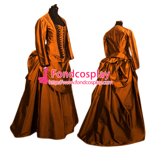 Victorian ROCOCO Gown Ball Outfit Gothic Punk Costume Tailor made[G2411]