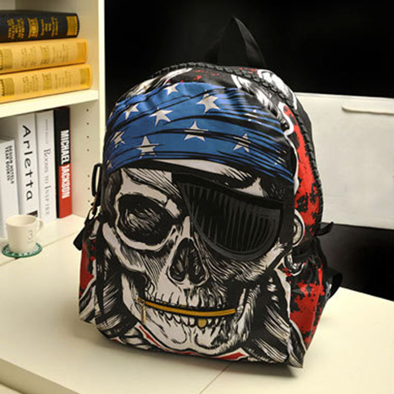Brand Quality Graffiti Canvas Bag Backpack School for Teenager Girl Laptop Bag Printing Backpack Women Backpack 50