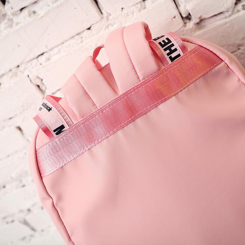 Menghuo Large Capacity Backpack Women Preppy School Bags For Teenagers Female Nylon Travel Bags Girls Bowknot Backpack Mochilas (46)