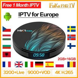 Image 1 - IPTV France Full Hd IPTV Arabic French Italy Canada IP TV Code HK1 MAX Android 9.0 Portugal Spain Turkey Germany UK 4K IPTV Box