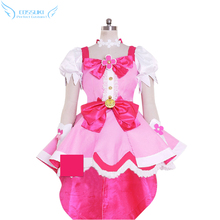 Pretty Cure Cure Flora Cosplay Costume Stage Performence Clothes , Perfect Custom for You !(China)
