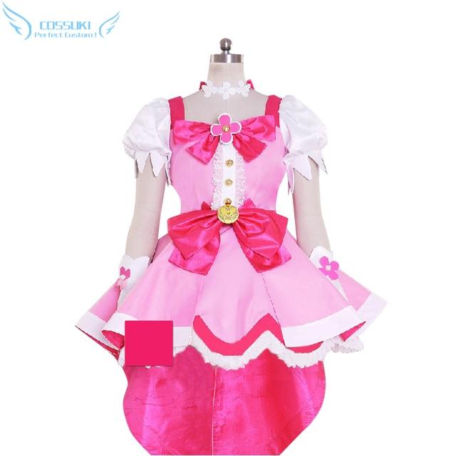 Pretty Cure Heilung Flora Cosplay Kostüm Bühne Performence Kleidung, Perfect Speziell für Sie!