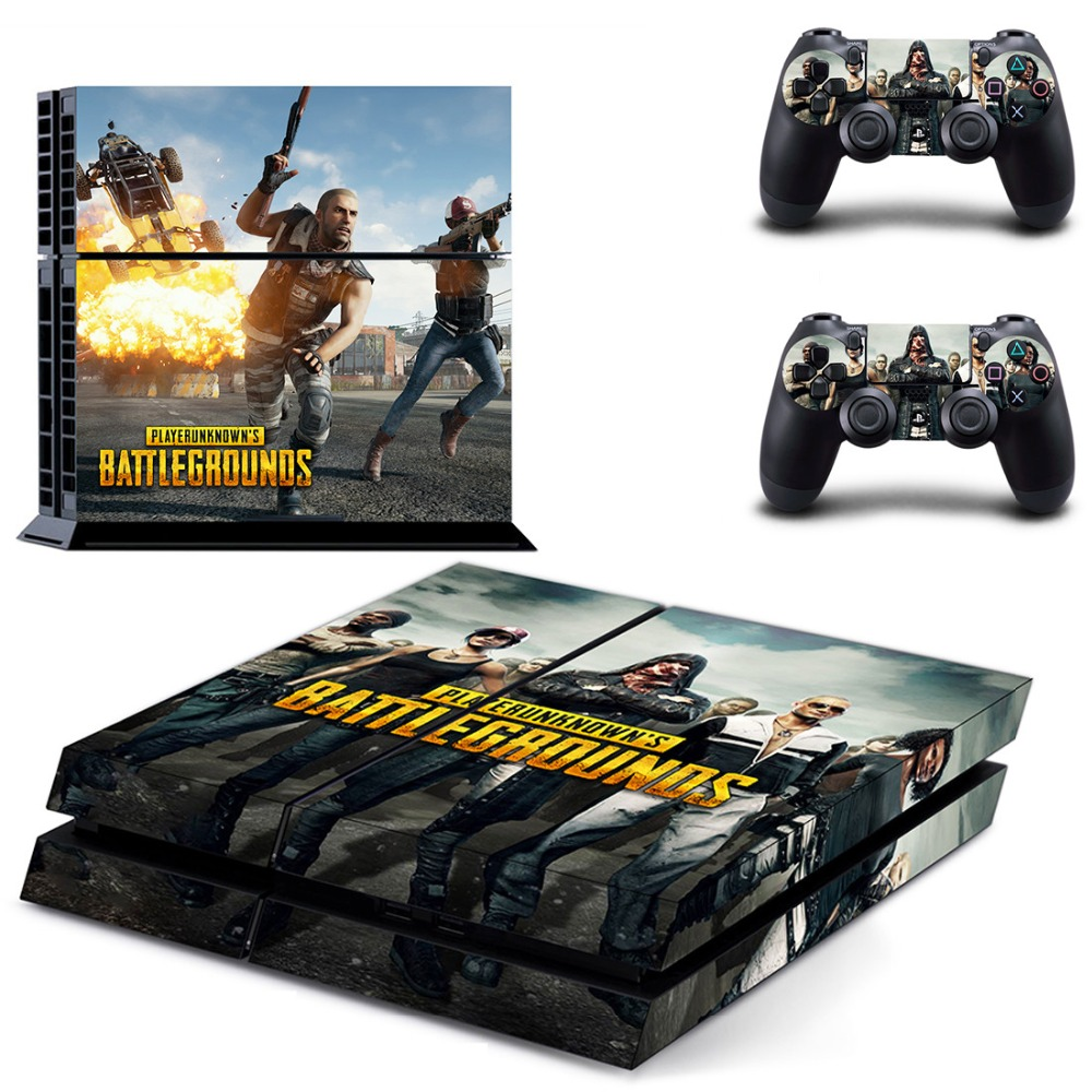 Us 799 Pubg Ps4 Full Skin Sticker Faceplates For Sony Playstation 4 Console And Controller In Stickers From Consumer Electronics On Aliexpress