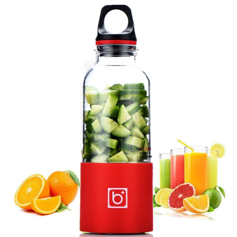 500ML Baby Food Maker Portable Electric Juicer Cup USB Rechargeable Blender Squeezers Fruit Juice Maker Baby Food Mills