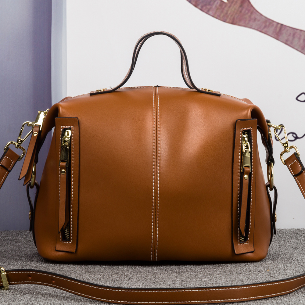 Brand Luxury Women Handbags Designer Genuine Leather Crossbody Bag Fashion Female Messenger Bags Shoulder Bag Ladies Big Totes chispaulo luxury brand women genuine leather handbags designer female crossbody bag fashion women s shoulder bags lady bags x21 page 2