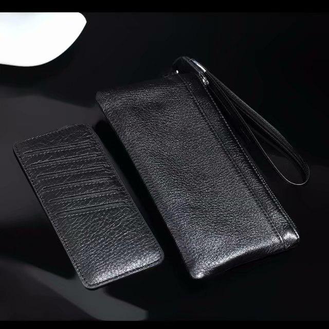 Pochette en cuir de vachette véritable pour téléphone portable, sacs pour BlackBerry KEY2, Doogee S50/Mix 2/X30L/BL5000, Oppo, Vivo, Wileyfox