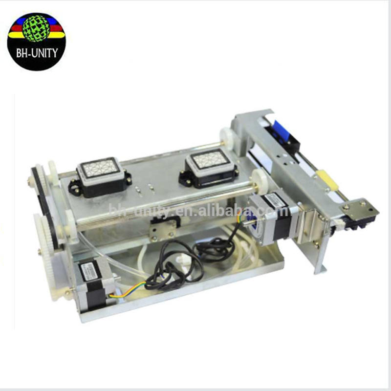 factory price!! double head ink pump assembly for dx5 printhead eco solvent printing machine spare parts on selling цены онлайн