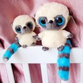 "Baby Toy,Yoohoo Friends Stuffed Plush toy (bush baby) - 5"" YooHoo,Big Eyes Cute Fabric Doll,free shipping,doll plush toys"