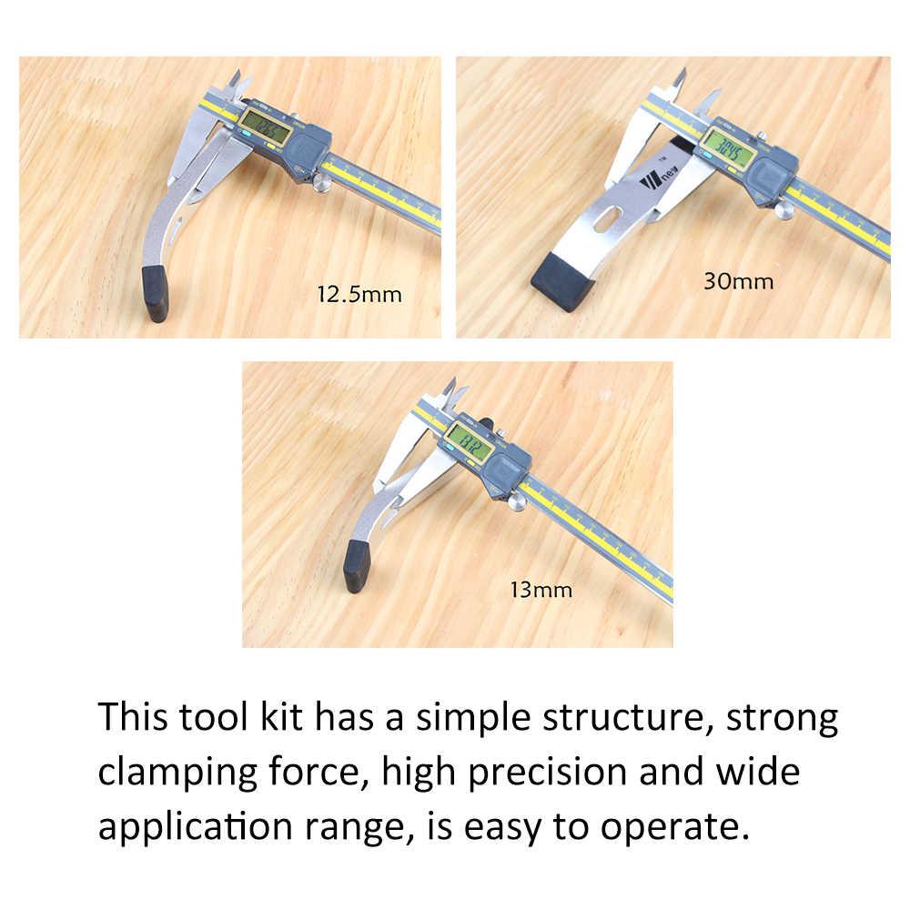Новые металлические быстродействующие фиксаторы T-Slot T-Track зажимной комплект для работы по дереву