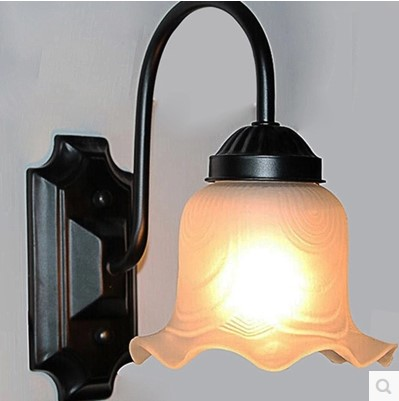Wall Lamps Europe : Wall Sconce Europe Vintage Beside LED Wall Lamp Light Fixtures Iron Wrount Indoor LIghting Led ...